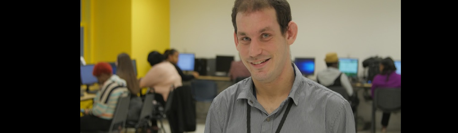 Josh works at PA CareerLink, providing employment resources for people with disabilities.