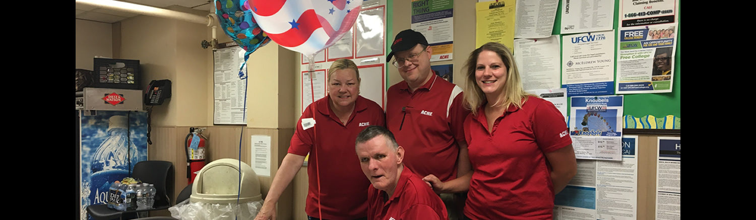 David T. retires after 14 years of a job well done at ACME