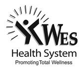 WES Health System Promoting Total Wellness: WES logo