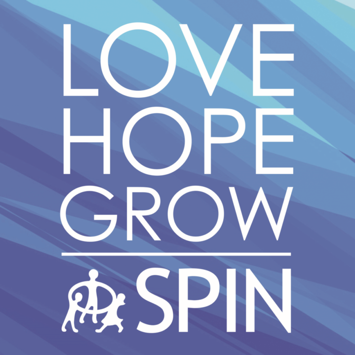 Love Hope Grow SPIN: SPIN logo